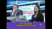 Зрителка казказва виц на Милен Цветков [smex] -=господари на ефира 18.04.2008=-