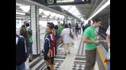 Беройци в метрото на Виена
