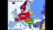 картата на бъдеща европа