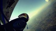 Hang gliding in subzero temperatures