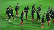 Българските национали тренират преди мача с Италия