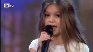 Малка сладурана смая журито със песента си Listen - България търси талант 2015
