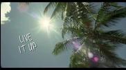 Tulisa feat. Tyga - Live It Up ( Официално Видео )