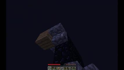 Minecraft Оцеляване с момиче! Епизод 3 - Nether Портал + Томбола.