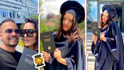 Повод за гордост: Симона Загорова завърши, ето с какви оценки се дипломира