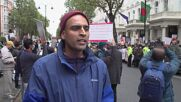 UK: Hundreds gather in London to protest against Hindu violence in Bangladesh