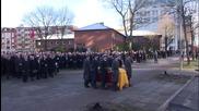 Germany: Hamburg bids farewell to ex-West German chancellor Helmut Schmidt