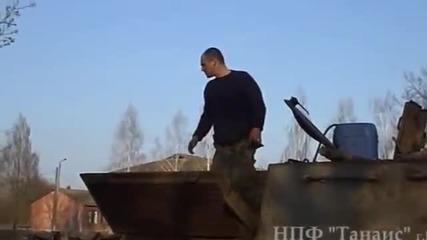 Съживяването на един Звяр Ису-152 Унищожител на Танкове