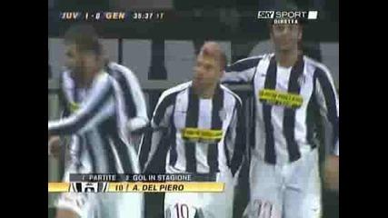 Ювентус - Дженоа 1:0 Алекс Гол
