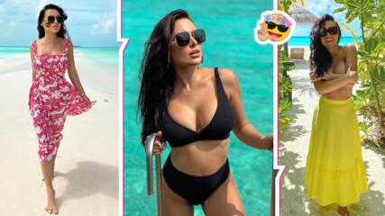 """Родният хайлайф отпраши зад граница: красивата Лили от """"Big Brother"""" каза """"Да"""" на Малдивите"""