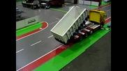 Tamiya Scania with mecanical hookarm