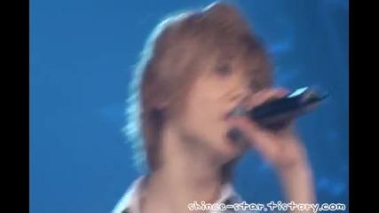 Shinee 1st Concert Seoul - Life (taemin)