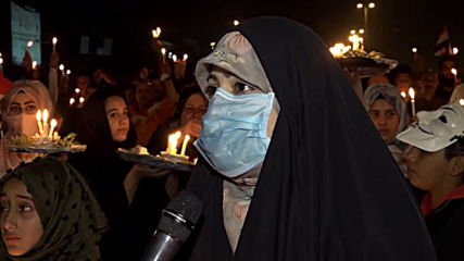 Iraq: Candlelight vigil for protesters killed during unrest