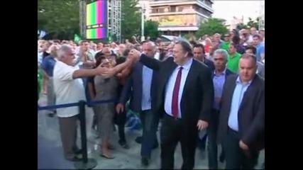 Левите партии в Гърция ще работят за правителство на националното единство