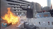 Riot in Germany as Blockupy Anti-austerity Protestors and Police Clash