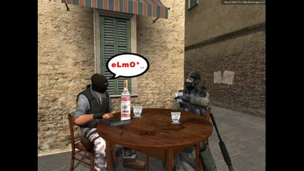 Таен разговор между ем и елмо*
