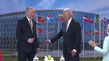 Belgium: Erdogan and Biden hold meeting following NATO summit