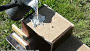 Casting a solid aluminum bat that leaves a good impression Success_Fail