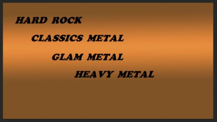 The Best Of Hard Rock,classics Metal,glam Metal and Heavy Metal Vol.6