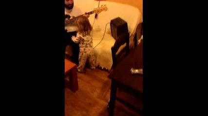 Slap bass warmin up feat.sweet daughter o' mine