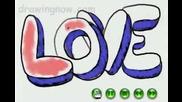 Как Се Рисува  Love 3d