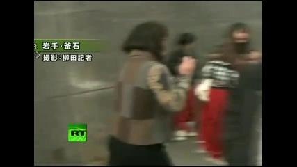 Бедствията от цунамито в Япония