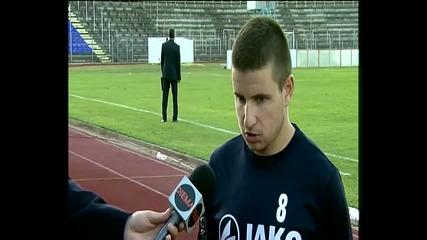 Иван Минчев: Надявам се да сме голяма хапка за всички отбори