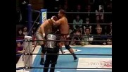 Masato Tanaka vs. Mitsuhide Hirasawa - New Japan Pro Wrestling 22.12.08
