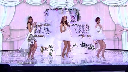 Snsd - Like A Virgin and Womanizer (dec 31,2009)
