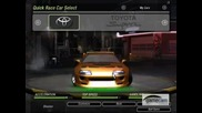 Some Fnf and 2f2f Cars From Nfsu2