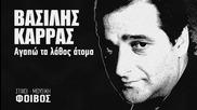 Гръцко 2013| Vasilis Karras - Agapo ta lathos atoma (превод)