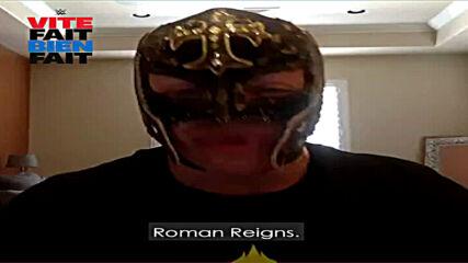 WWE Vite Fait Bien Fait – Rey Mysterio