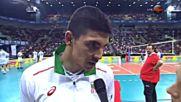 Изгряващата звезда на волейбола ни за Владо: Всички го обичат