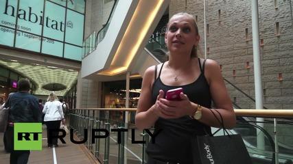 "Belgium: Mobile phone ""text walking lanes"" appear in Antwerp"
