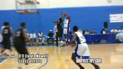 The Best Of The 2009 - 2010 Season Hoopmixtape Part 1; Crazy And Sick Plays