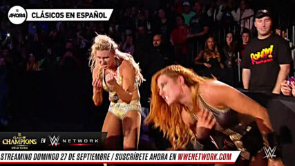 Clásicos en Español: Becky Lynch vs Charlotte Flair – Evolution 2018