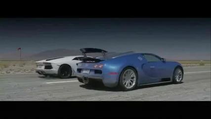 Lamborghini Aventador vs Bugatti Veyron