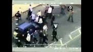 Hooligans Leeds United vs Manchester United