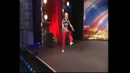73 годишен брейкър - Britains Got Talent