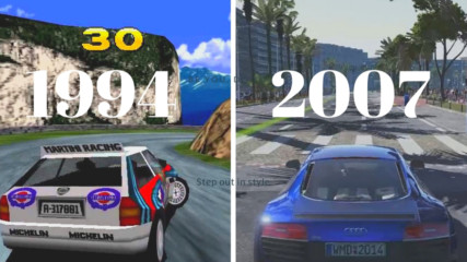 Еволюция на Need for Speed Games 1994-2017