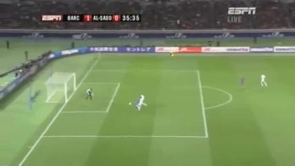 david villa счупи крак в мача срещу Al Sadd