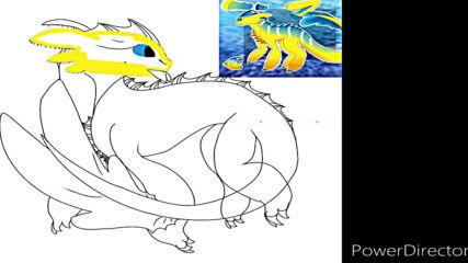 my next oc dragon speed paint.mp4
