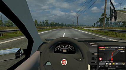 Лек автомобил в Етс2 отиваме в Сату Маре