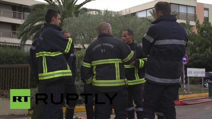 Франция: Поне 17 души загинаха при наводнение на френската ривиера