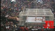 Wwe - Rikishi Chokeslamed off Hell In A Cell - Armageddon 2000 - Hd [720p]