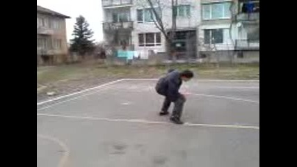 Streetball trick