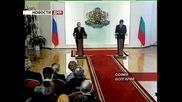 Визитата  на В. Путин в България