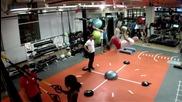 На фитнес с Деймиън Уолтърс (damien Walters)