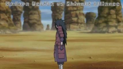 Madara Uchiha vs Shinobi Alliance