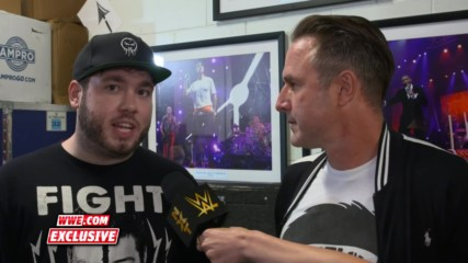 David Arquette takes a friendly jab at Brock Lesnar: WWE.com Exclusive, Aug. 18, 2018